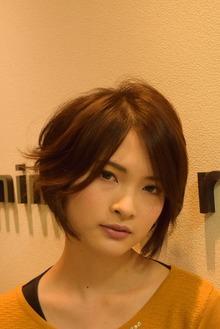 artistic layer bob  アレンジ編   K.H様 (横浜市)